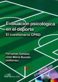 evaluacion psicologica en el deporte: el cuestionario cprd-jose maria buceta-9788498499377