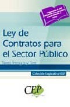 Geekmag.es Ley De Contratos Para El Sector Publico. Texto Integro Y Test. Co Leccion Legislativa Cep Image