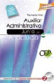 Inmaswan.es Temario Vol. I Oposiciones Auxiliar Administrativo De La Junta De Andalucia Image