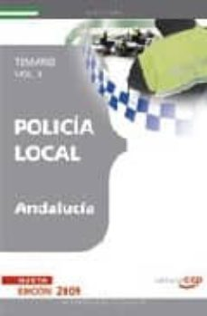 Vinisenzatrucco.it Policia Local De Andalucia. Temario. Vol. Ii Image