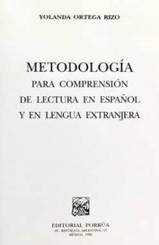 Bressoamisuradi.it Metodologia Para Comprension De Lectura En Español Y En Lengua Ex Tranjera Image