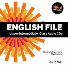 E-libros gratis en griego descargar ENGLISH FILE: UPPER-INTERMEDIATE: CLASS AUDIO CDS 9780194558587