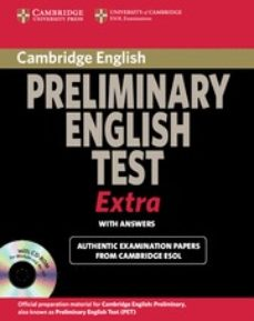 cambridge exams extra pet : student book with answers + cd-rom-9780521676687