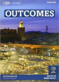 Descargas de libros franceses OUTCOMES INTERMEDIATE WORKBOOK + CD 2ª de  9781305102187