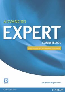 expert advanced 3rd edition coursebook with audio cd (examenes)-9781447961987
