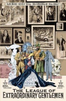 the league of extraordinary gentlemen: volume 1-alan moore-9781563898587