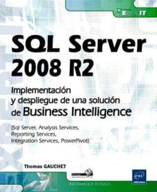 Descargar SQL SERVER 2008 R2 gratis pdf - leer online