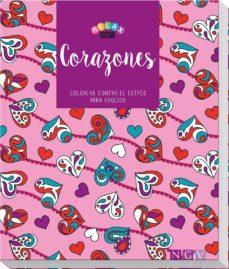 E-libros gratis para descargar para kindle CORAZONES (LIBROS PARA COLOREAR) (Literatura española) de SIN AUTOR PDB