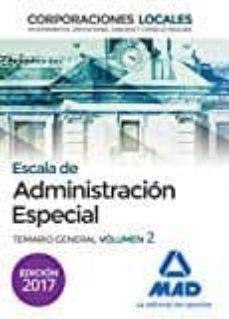 Permacultivo.es Escala De Administración Especial. Corporaciones Locales. Temario General Volumen 2 Image