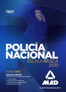 Carreracentenariometro.es Policía Nacional Escala Básica. Test Image