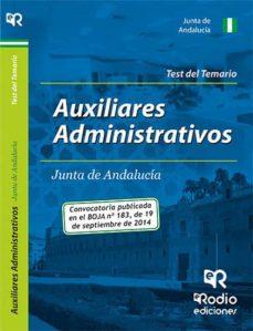 Mrnice.mx Auxiliares Administrativos De La Junta De Andalucía. Test Image