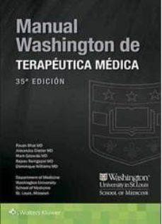 Descargar libros electrónicos gratuitos pdf MANUAL WASHINGTON TERAPEUTICA MEDICA (35ª ED.) (Spanish Edition)  9788416654987 de HEMANT GODARA