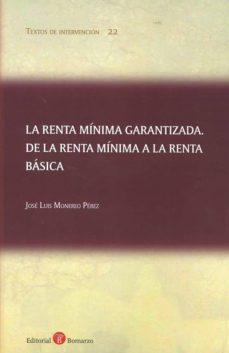 Inmaswan.es Renta Minima Garantizada. De La Renta Minima A La Renta Basica Image