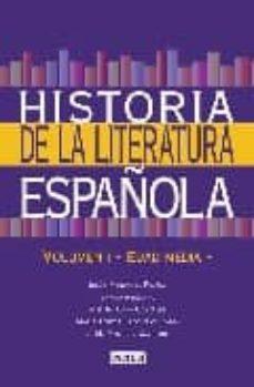 Bressoamisuradi.it Historia De La Literatura Española: Edad Media (Tomo 1) Image
