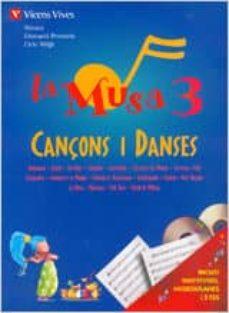Titantitan.mx La Musa 3. Cançons I Danses. Llibre + 2 Cd. Primaria 3º Image