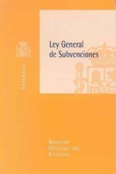 Premioinnovacionsanitaria.es Ley General De Subvenciones Image
