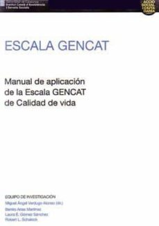 Cdaea.es Escala Gencat:manual De Aplicacion De La Escala Gencat De Calidad De Vida Image