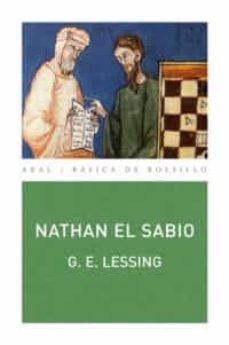 Ebooks internet descarga gratuita NATHAN EL SABIO 9788446028987 de GOTTHOLD EPHRAIM LESSING in Spanish