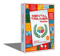 mental trainer olimpiadas (caja + retractilado)-agustin fonseca-sergio f. aldrey-9788448048587