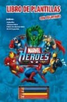 Cdaea.es Marvel Heroes: Libro De Plantillas Con Pegatinas Image