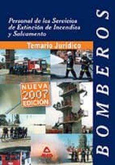 Emprende2020.es Personal De Los Servicios De Extincion De Incendios Y Salvamento. Bombero. Temario Juridico Image