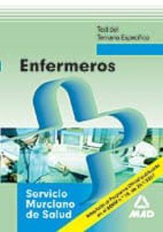 Bressoamisuradi.it Enfermeros Del Servicio Murciano De Salud. Temario Especifico. Te St Image