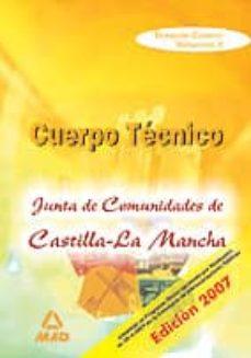 Inmaswan.es Temario Comun Del Cuerpo Tecnico De La Junta De Comunidades De Ca Stilla La Mancha. Volumen Ii Image