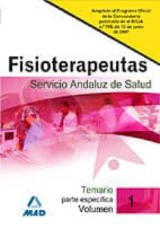Viamistica.es Fisioterapeutas Del Servicio Andaluz De Salud. Temario Parte Espe Cidica. Volumen I Image