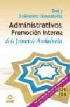 Titantitan.mx Administrativos (Promocion Interna). Temario. Promocion Interna. Test Y Examenes Comentados Image