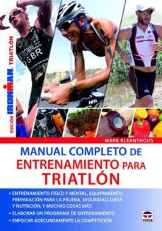Padella.mx Manual Completo De Entrenamiento Para Triatlon Image
