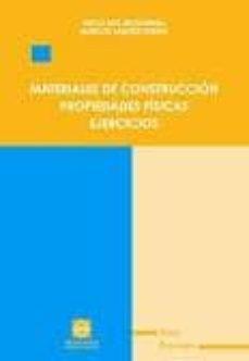 MATERIALES DE CONSTRUCCION PROPIEDADES FISICAS. EJERCICIOS - DIEGO ROS MCDONNELL | Triangledh.org