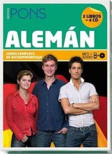 Encuentroelemadrid.es Curso Pons: Aleman (2 Libros + 4 Cd + Dvd + Tutoria): Curso Compl Eto De Autoaprendizaje Image