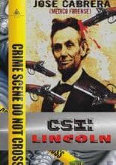 csi: lincoln-jose cabrera-9788494080487