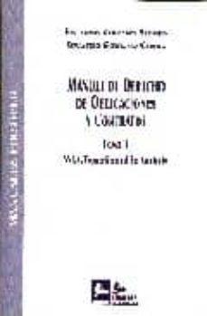 MANUAL DE DERECHO DE OBLIGACIONES Y CONTRATOS (T. II) (VOL. I) TE ORIA GENERAL DEL CONTRATO - EDUARDO SERRANO ALONSO | Adahalicante.org