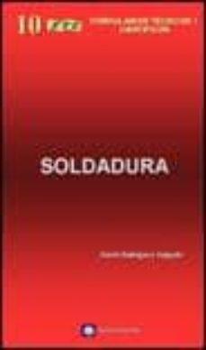 formulario tecnico de soldadura-david rodriguez salgado-9788496486287