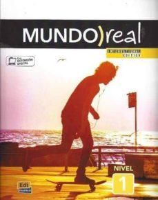Cronouno.es Mundo Real Level 1 Student Book International Edition Image