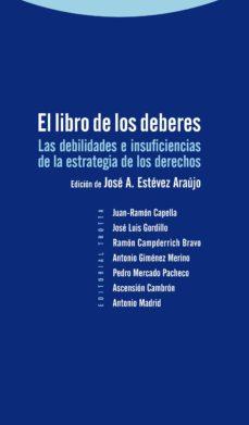 Descargar EL LIBRO DE LOS DEBERES gratis pdf - leer online