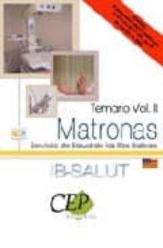 Mrnice.mx Matronas Servicio De Salud De Las Illes Balears (Ib-salut). Temar Io Vol Ii Image