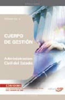 Ojpa.es Cuerpo De Gestion De La Administracion Civil Del Estado: Temario Vol. V Image