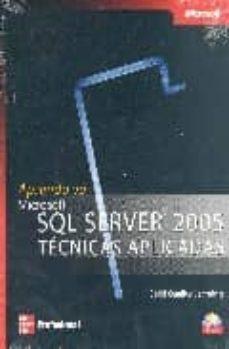 aprenda ya sql server 2005 tecnicas aplicadas-9789701064887