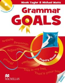 Descargas gratuitas de libros electrónicos para el nook GRAMMAR GOALS: PUPIL´S BOOK PACK LEVEL 1 (MIXED MEDIA PRODUCT) de  (Spanish Edition) 9780230445697 PDB MOBI