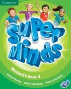 Descargar libros gratis en formato txt SUPER MINDS LEVEL 2 STUDENT S BOOK WITH DVD-ROM in Spanish 9780521148597