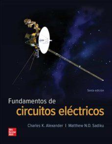 Ebook gratuito para joomla para descargar FUNDAMENTOS DE CIRCUITOS ELÉCTRICOS 9781456260897  en español de CHARLES ALEXANDER