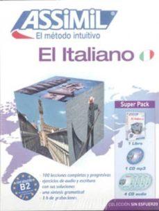super pack el italiano (libro + cd s + cd mp3)-9782700580297