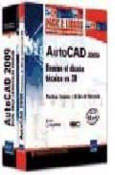 Eldeportedealbacete.es Autocad 2009: Pack 2 Libros: Domine El Diseño Tecnico En 2d Image