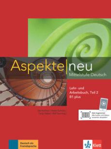 Caja de libros electrónicos: ASPEKTE NEU B1+ TOMO 2 AL+EJ+CD