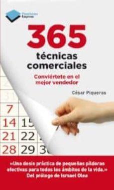 Descargar 365 TECNICAS COMERCIALES gratis pdf - leer online