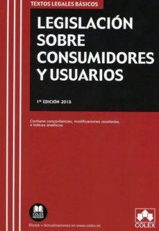 Biblioteca de eBookStore: LEGISLACIÓN SOBRE CONSUMIDORES Y USUARIOS 9788417135997 de EDITORIAL COLEX S.L. (Literatura española)