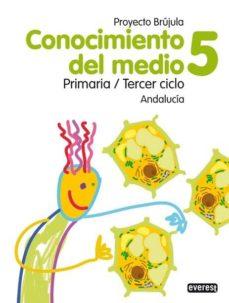 Carreracentenariometro.es Conocimiento Del Medio 5 Educacion Primaria Guia Didactica Brujula (Andalucia) Image