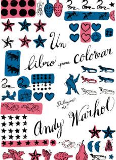 un libro para colorear: dibujos de andy warhol-andy warhol-9788425225697